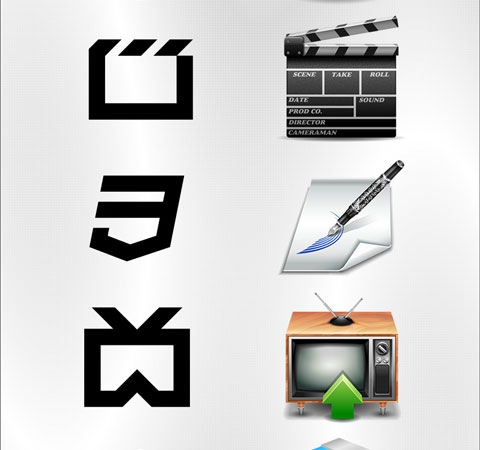 html5 50 Of The Best Free Icon Sets From 2011
