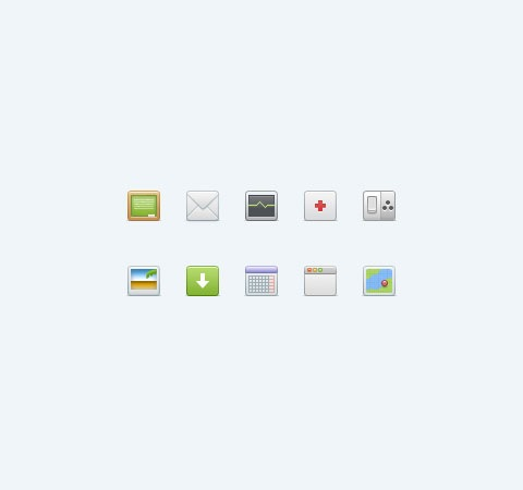mushiconset 50 Of The Best Free Icon Sets From 2011