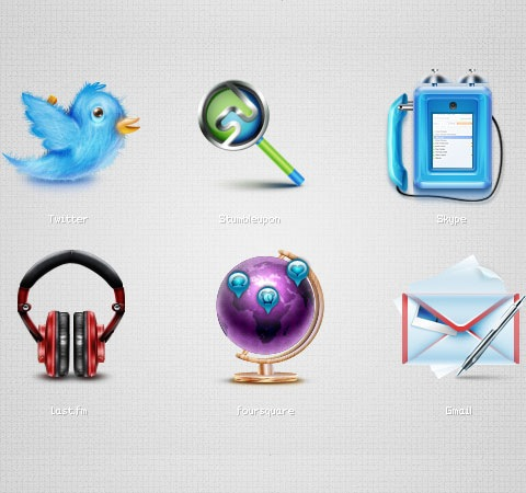 socialicons 25 Best Fresh Icon Sets From 2011 All In One Place