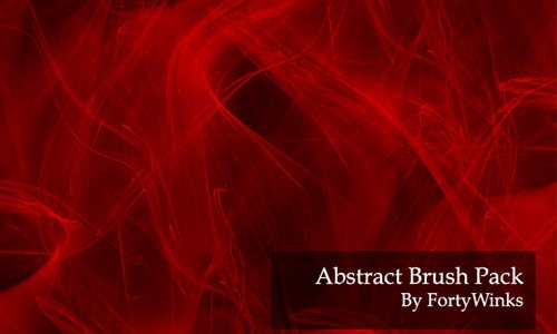 abstract-brush-red