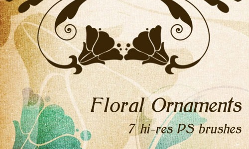floralornaments Must Read: Ultimate Collection Of High Quality Free Photoshop Brushes