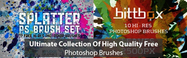 ltimatecollectionofbrushes Must Read: Ultimate Collection Of High Quality Free Photoshop Brushes