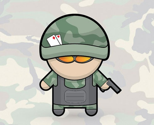 army 40 Fresh Illustrator Tutorials From 2011