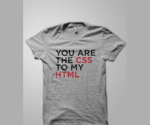 csstomyhtml 20 Funny T shirt Designs For designers And Web designers