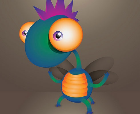cutecharacter 40 Fresh Illustrator Tutorials From 2011