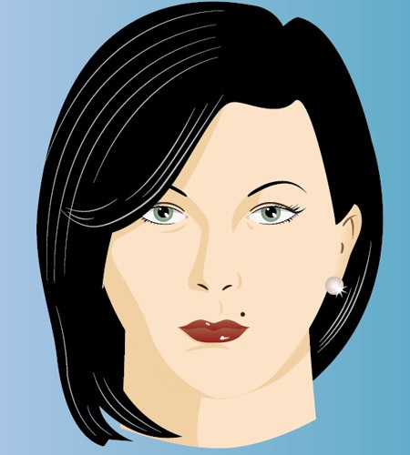 modelinghumanface The Best Illustrator tutorials for Creating Detailed Portrait Illustrations