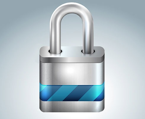 padlock 40 Fresh Illustrator Tutorials From 2011