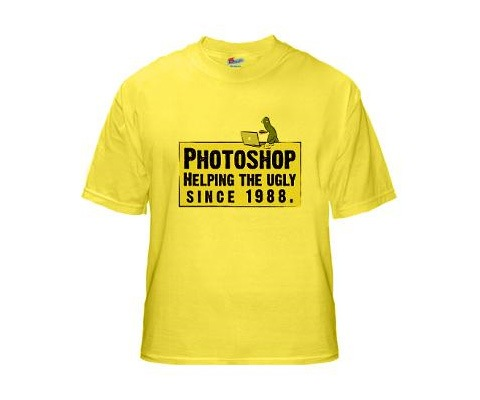 photoshophelpingtheugly 20 Funny T shirt Designs For designers And Web designers