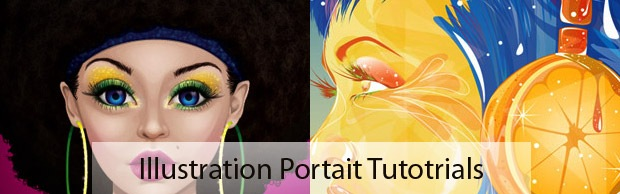 portaits The Best Illustrator tutorials for Creating Detailed Portrait Illustrations