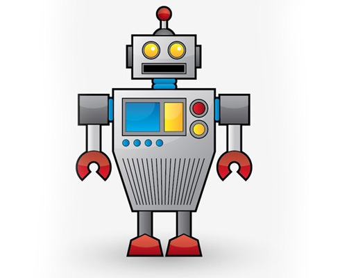 robot 40 Fresh Illustrator Tutorials From 2011
