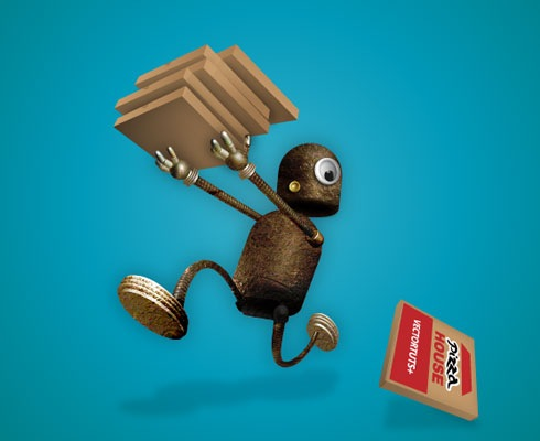 robotillustration 40 Fresh Illustrator Tutorials From 2011