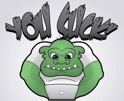 troll 40 Fresh Illustrator Tutorials From 2011