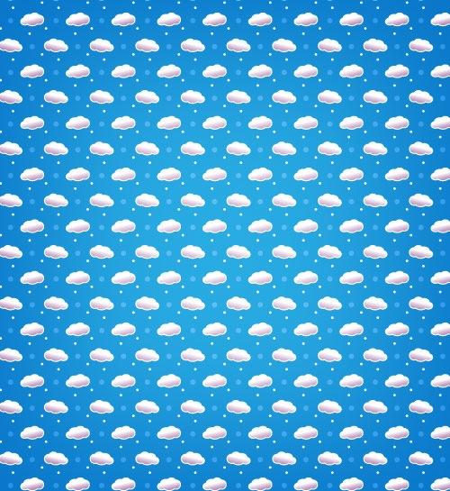 cloundpattern 10 Fresh High Quality Seamless Photoshop And Illustrator Patterns