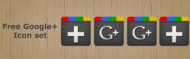 Free Google Plus Icons by creativenerds