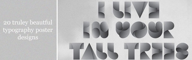 beautifulposters 20 Truly Beautiful Typography Poster Designs