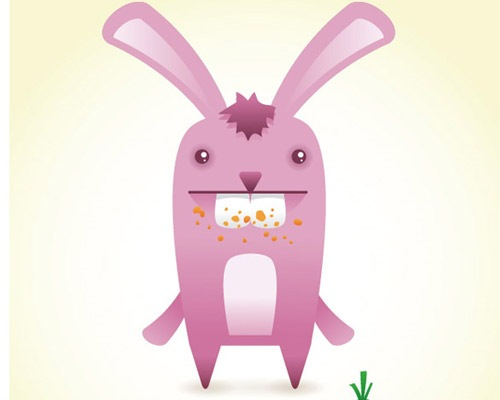 bunny 25 Illustrator Tutorials For Creating Animal Illustrations