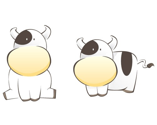 cows 25 Illustrator Tutorials For Creating Animal Illustrations
