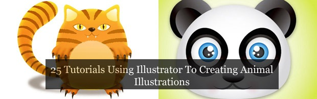 illustratortutorials 25 Illustrator Tutorials For Creating Animal Illustrations