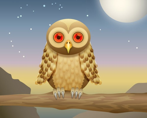 owl 25 Illustrator Tutorials For Creating Animal Illustrations