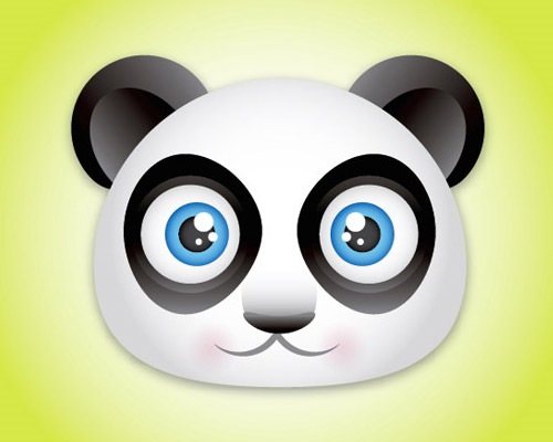 panda 25 Illustrator Tutorials For Creating Animal Illustrations
