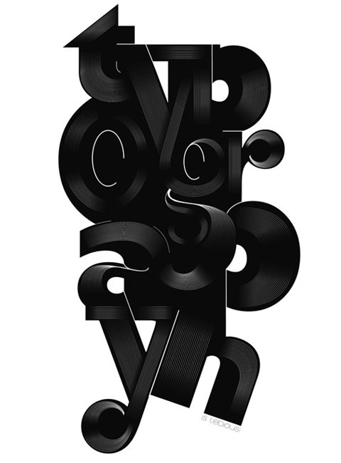 rypography 20 Truly Beautiful Typography Poster Designs