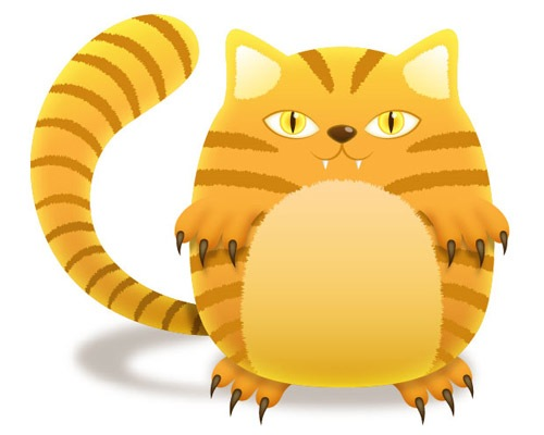 tigercat 25 Illustrator Tutorials For Creating Animal Illustrations