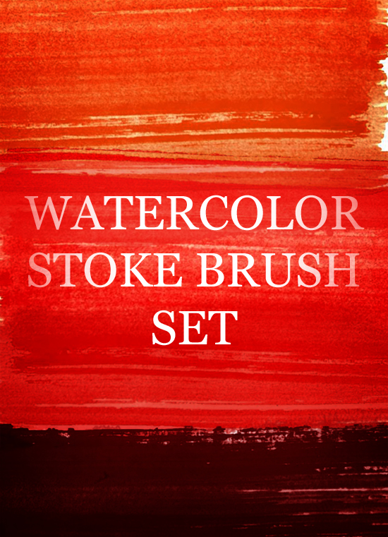 watercolour strokes preview A Great Watercolour Strokes Photoshop Brush Set
