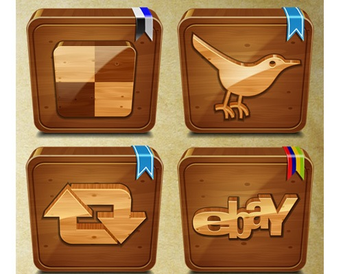 wooden-icons