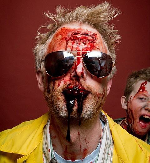 fatherandson 20 Of The Most Terrifying Halloween Zombie Portraits