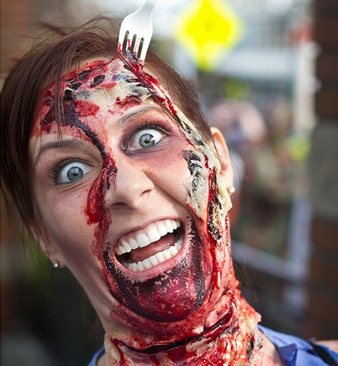 folkmoster 20 Of The Most Terrifying Halloween Zombie Portraits