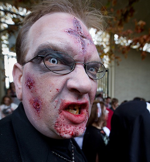 forgivemefather 20 Of The Most Terrifying Halloween Zombie Portraits