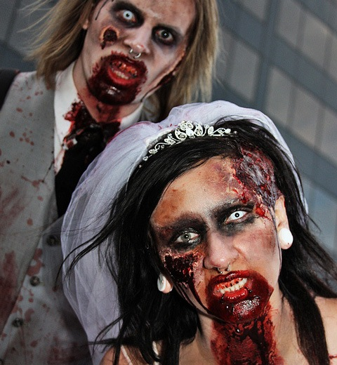 wedding 20 Of The Most Terrifying Halloween Zombie Portraits