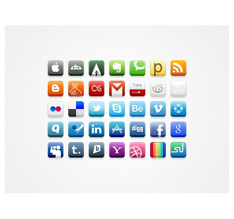 32pixelicons 50 Of The Best Free Icon Sets From 2011