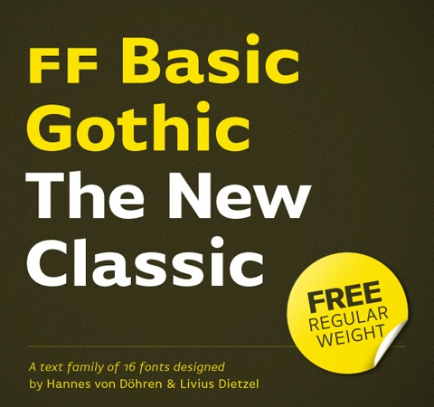basicgothic 20 Best Free Fonts From 2011