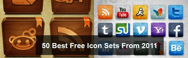 best icons 2011 50 Of The Best Free Icon Sets From 2011