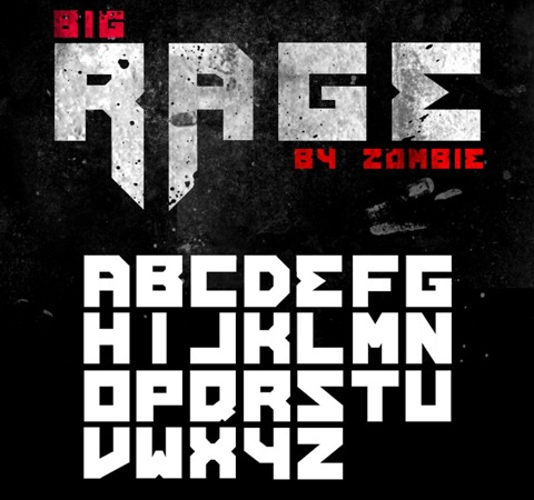 bigrage 20 Best Free Fonts From 2011
