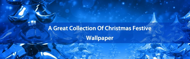 christmaswallpapersbanner A Great Collection Of Christmas Festive Themed Wallpapers