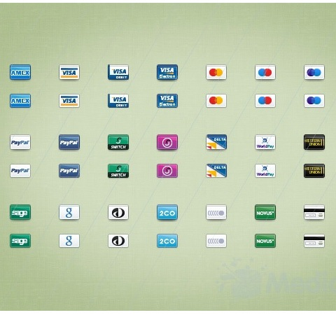 creditcardicons 50 Of The Best Free Icon Sets From 2011