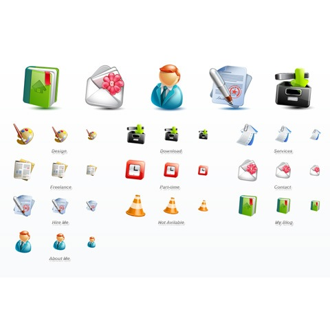 cute 50 Of The Best Free Icon Sets From 2011