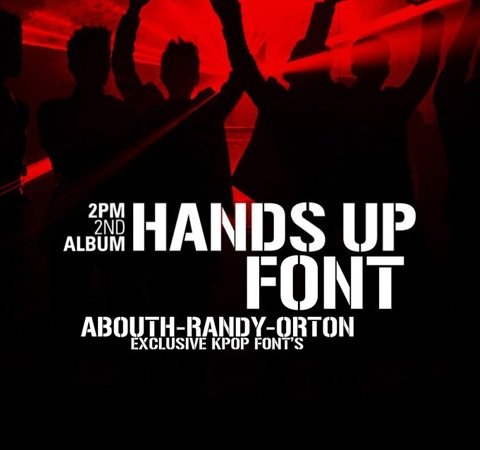 handsup 20 Best Free Fonts From 2011