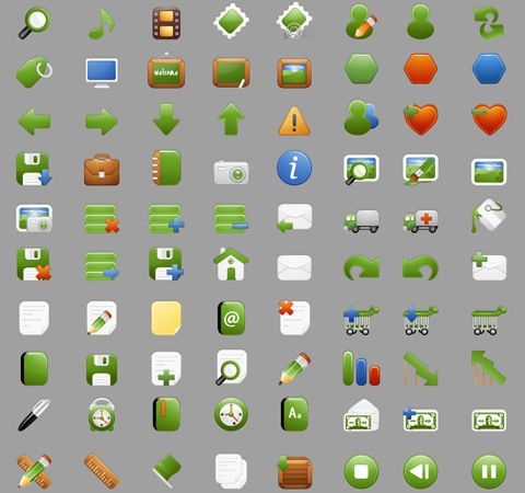 milky1 50 Of The Best Free Icon Sets From 2011