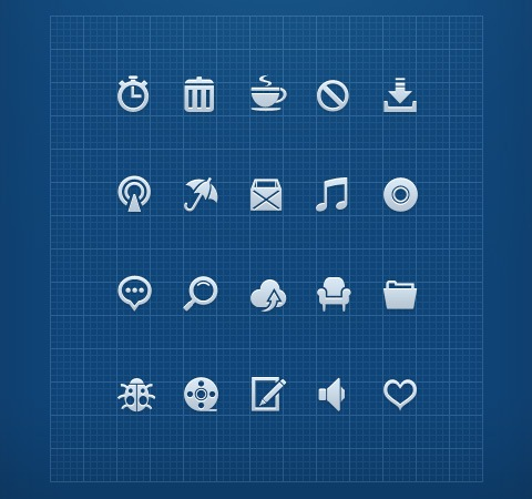 mono 50 Of The Best Free Icon Sets From 2011