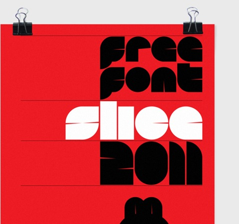 slice 20 Best Free Fonts From 2011