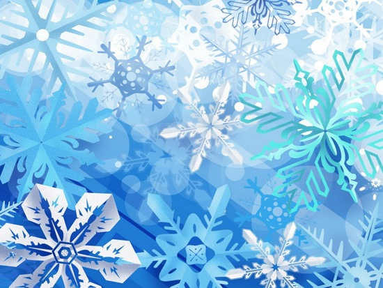 snowflakes A Great Collection Of Christmas Festive Themed Wallpapers