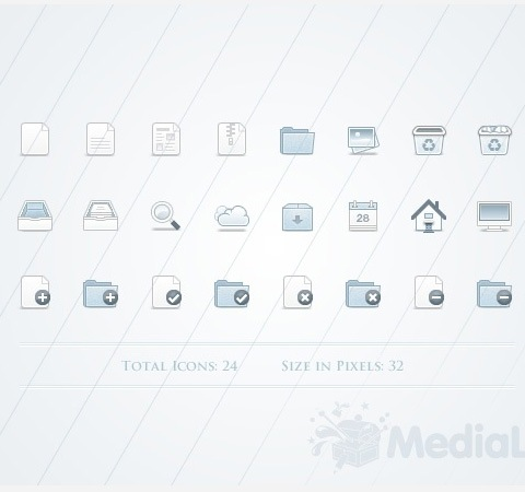 total 50 Of The Best Free Icon Sets From 2011