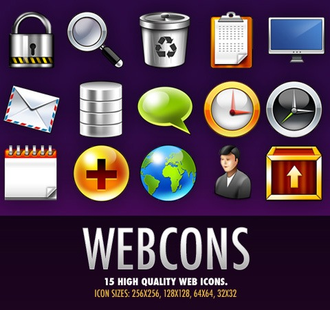 wbecons 50 Of The Best Free Icon Sets From 2011