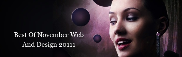 bestofweb2011 Best Of Web And Design In November 2011