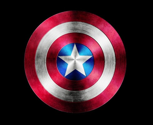 captain america photoshop