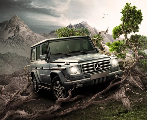 caradvertisment 40 Best Photoshop Tutorials From 2011