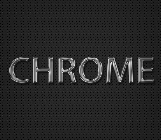 chrometextpreview How To Create A Quick And Easy Chrome Text Effect In Photoshop
